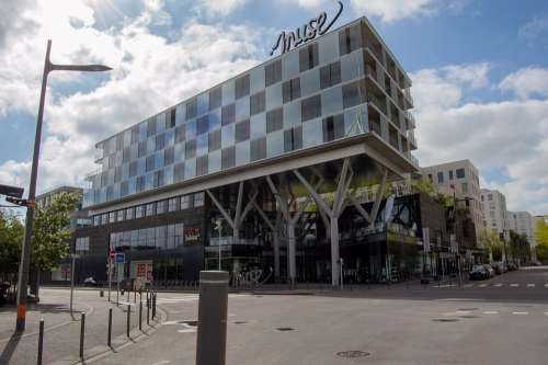Metz City Moselle Muse Europe Architecture