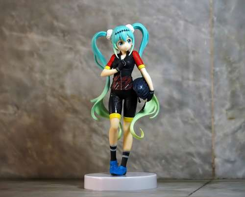 Miku Vocaloid Young Girl Lady Female Student