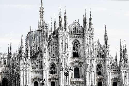 Milano Duomo Milan Italy Architecture Church