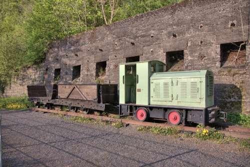 Mining Railway Loco Towing Vehicle Mining Nostalgia