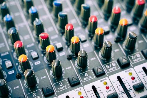 Mixer Dj Controller Buttons Sound Studio Music