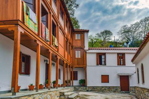 Monastic Cells Monastery Architecture Building