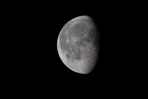 Moon Slimming Dark Night Dreiviertelmond Ache