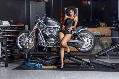 Motor Harley Davidson M Motorcycle Harley Chrome