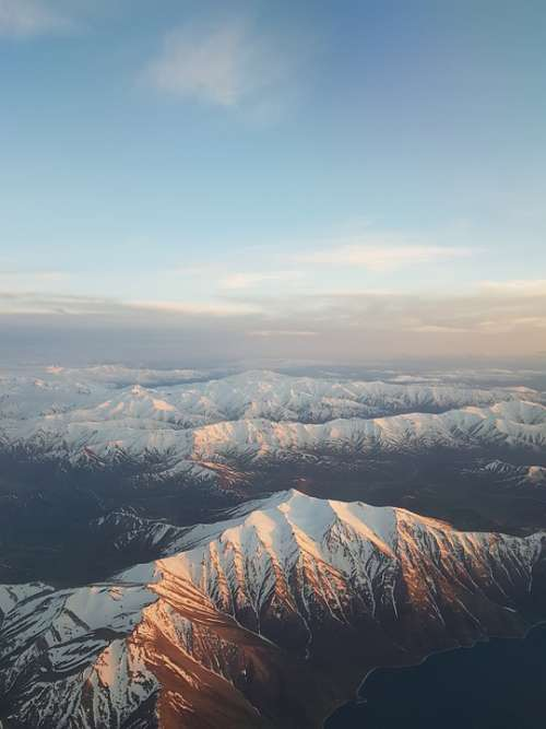 Mountain Snow Winter Nature Mountaineering Sky