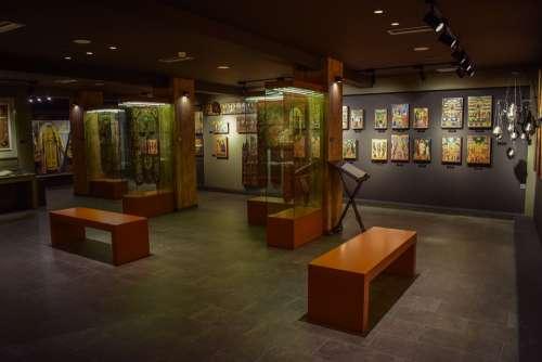 Museum Interior Architecture Byzantine Museum