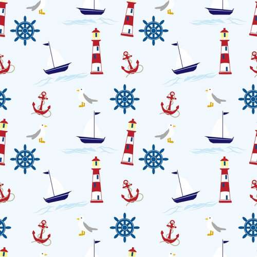 Nautical Wallpaper Background Paper Wheel