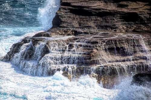 Ocean Pacific Hawaii Oahu Water Beach Sea Wave