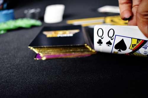 Pair Of Queens Poker Cards Queens Queen Club