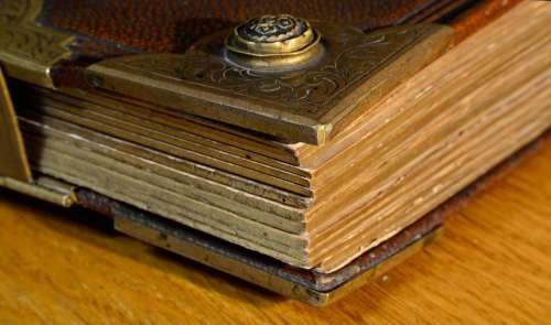 Paper Book Album Old Bible Read Starodruk