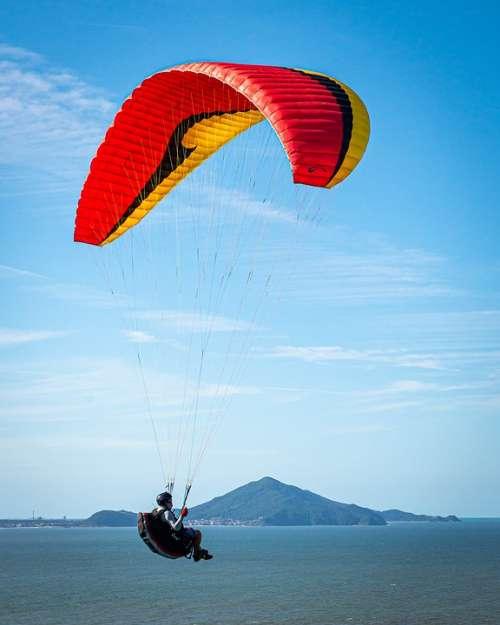 Paraglider Leisure Paragliding Sport Freedom