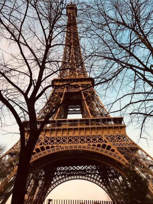 Paris Eiffel Architecture Evening Memories Travel
