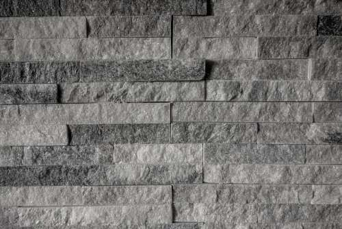 Pattern Texture Grey Brick Wall Model Decorative