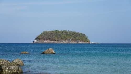 Phuket Nature Holiday Landscape Beach Tourism Sea