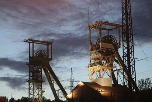 Pit Mining Mineral Quarry Saarland Carbon