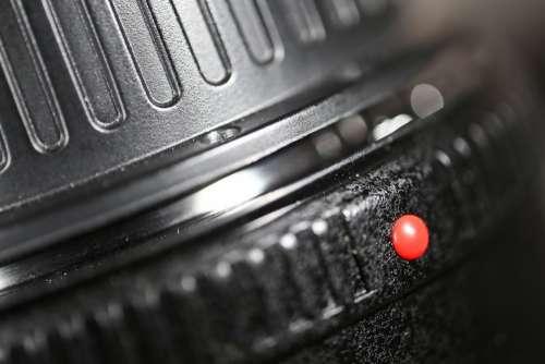 Point Lens Form Red Symbol Setting Locking Mark