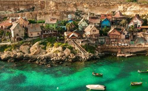 Popeye Village Malta Architecture Travel Tourism