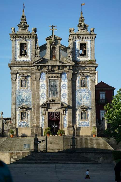 Porto Portugal Saint Ildefonso Facade