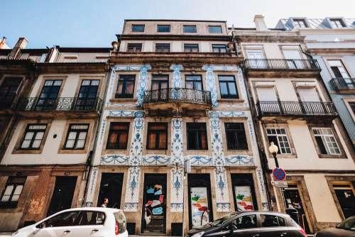 Portugal Porto Building Urban Architecture