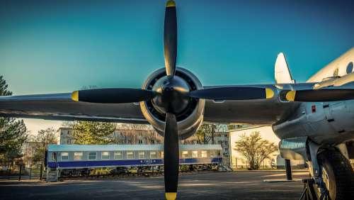 Propeller Aircraft Wing Flying Aviation Oldtimer