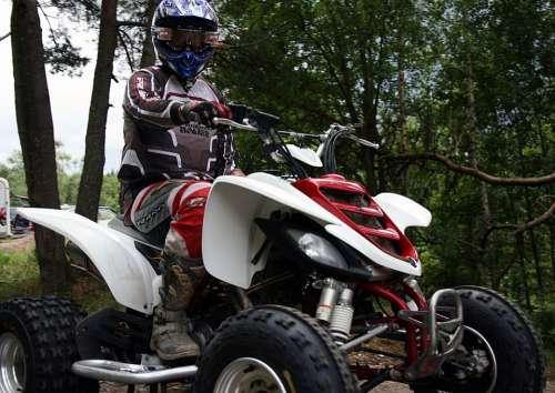 Quad Dirt Bike Action Speed Dirt Adventure