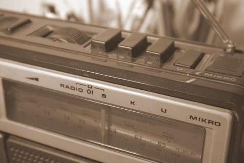 Radio Old Grandpa The Receiver Classic