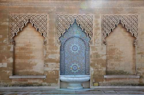 Ramadan Morocco Traditional Mosque Islam Religion
