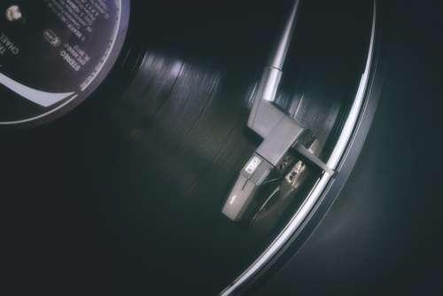 Record Plate Vinyl Turntable Vintage Analog Hifi