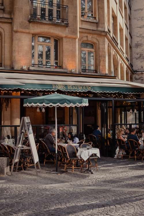 Restaurant Paris France Bistro Cafe Coffee Europe