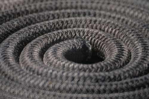 Rope Spiral Nautica Coil Texture Magic Safety