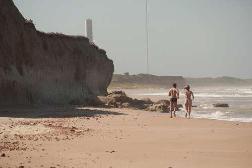 Running Sand Casal Mar Beach