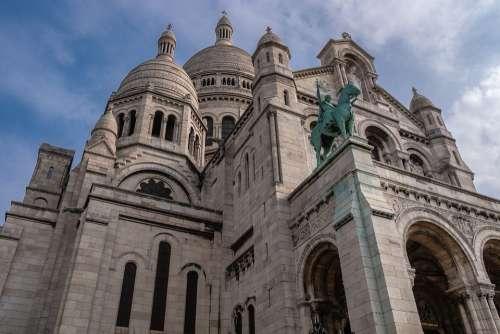 Sacre Coeur Cathedral Paris Architecture Historical