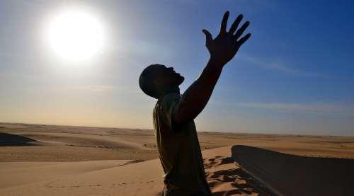 Sahara Desert Man Sahara Desert Travel Africa