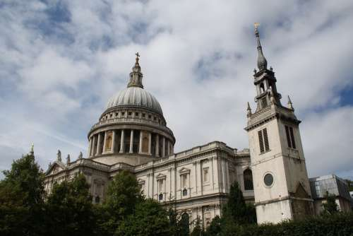 Saint Paul'S Cathedral England Cathedral Uk
