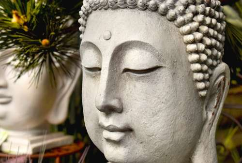 Serenity Buddha Meditation Buddhism Yoga Asia