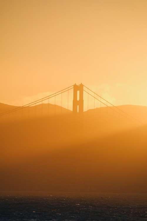 Sf San Fran San Francisco Golden Gate Bridge Bridge