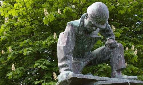 Shipyard Workers Walter Rössler Kiel Sculpture