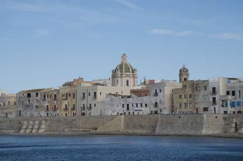 Sicily Drills The Church Of San Lorenzo