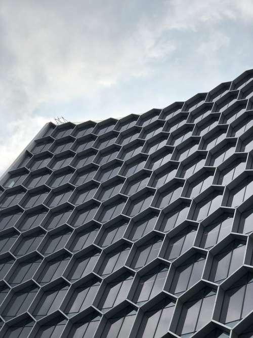 Singapore Skyline City Business Architecture Urban
