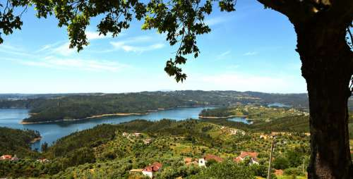 Souto Portugal Reservoir Travel Water River