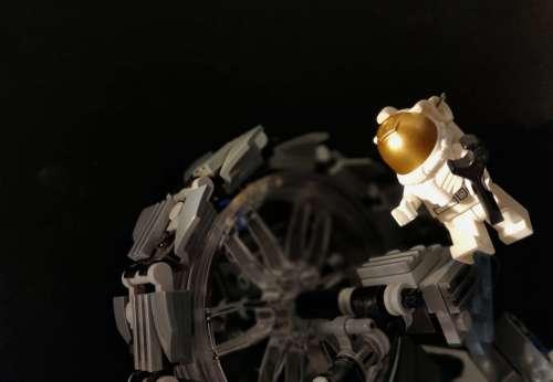Space Spaceman Astronaut Lego Toy Minifigure