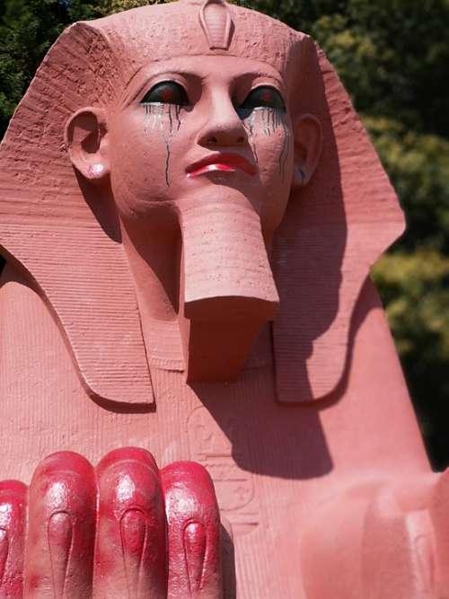 Sphinx Graffiti Street Art Crystal Palace Make Up