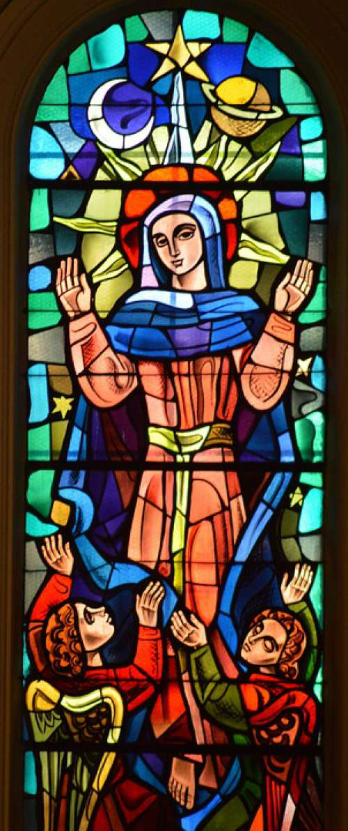 Stained Glass Window Color Church Glass Faith