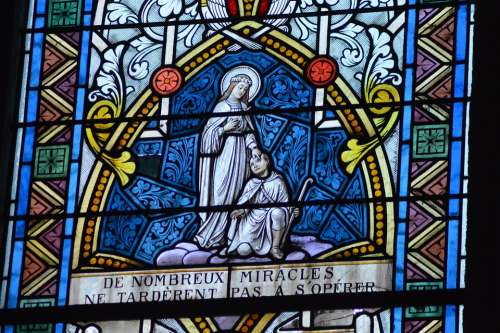 Stained Glass Window Church Color Faith Religion