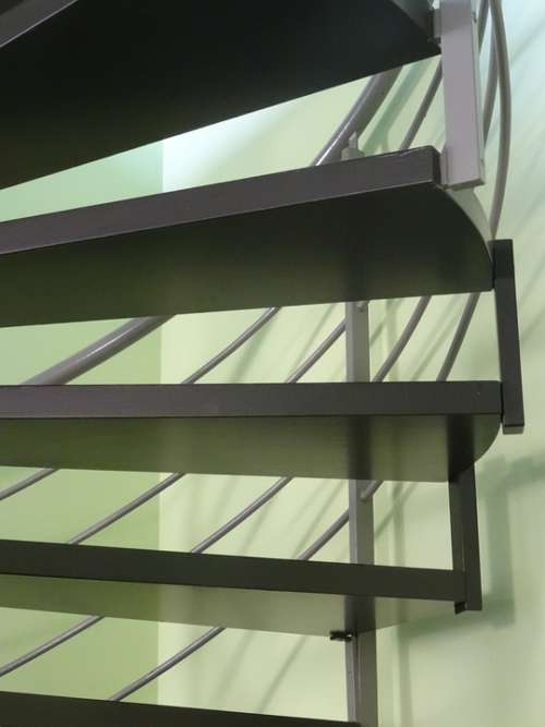 Stairs Lighting Spiral Staircase House Modern