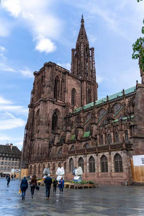 Strasbourg Münster Cathedral Of Our Lady Cathedrals