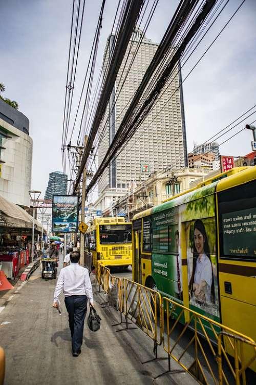 Street Bangkok Market Work