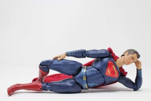 Superman Superhero Hero Cape Male Strength Man