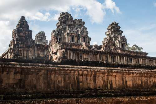 Ta Keo Cambodia Temple Fortress City Ruins Tower