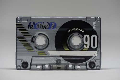 Tape Cassette Analog Tinge Magnetband Vintage